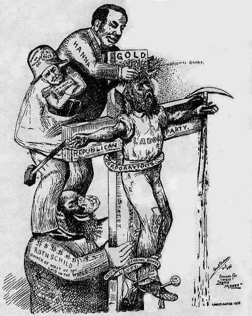 Quot Anti Semitic Quot Political Cartoons Elections 1896